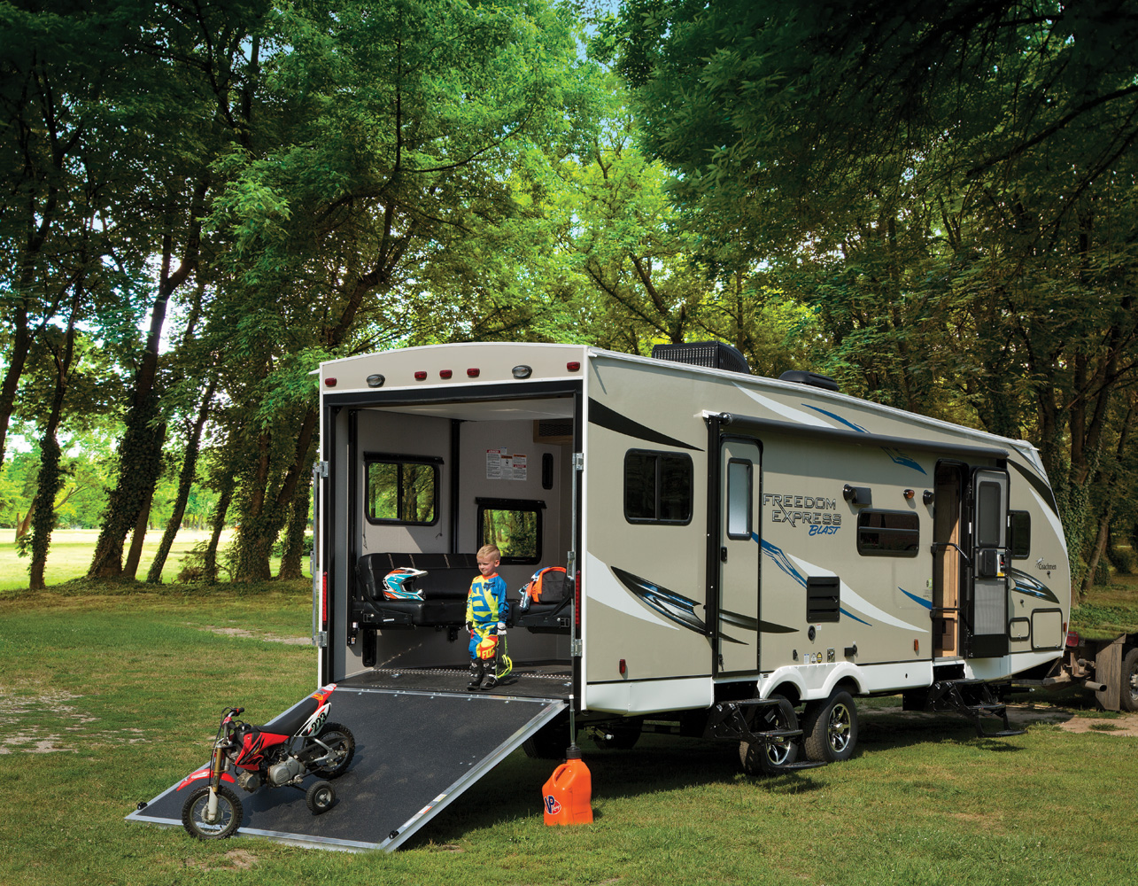 Freedom Express Blast Toy Haulers by Coachmen RV