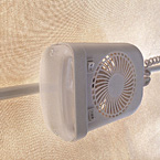 LED bunk end fan lights May Show Optional Features. Features and Options Subject to Change Without Notice.
