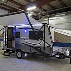 Apex Nano 15X Exterior Showing Awning Extended May Show Optional Features. Features and Options Subject to Change Without Notice.