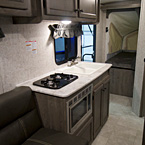 Apex Nano 15X Interior Kitchen May Show Optional Features. Features and Options Subject to Change Without Notice.