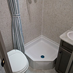 Apex Nano 15X Interior Bathroom May Show Optional Features. Features and Options Subject to Change Without Notice.