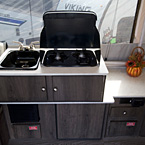 Viking 2405ST Cooktop, Sink and Storage May Show Optional Features. Features and Options Subject to Change Without Notice.