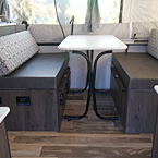 Clipper 806XLS Dinette Seating May Show Optional Features. Features and Options Subject to Change Without Notice.