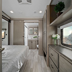 Chaparral X-Edition Interior Bedroom with Master Bath