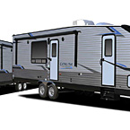 Catalina Trail Blazer Travel Trailer Toy Hauler Exterior