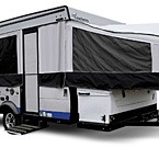 Coachmen Clipper Classic Exterior (open) May Show Optional Features. Features and Options Subject to Change Without Notice.