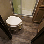 Marine Toilet with Foot Flush