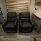 2 Thomas Payne Lounge Recliners Shown in Java Décor