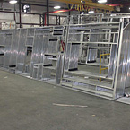 Welded Aluminum Framing