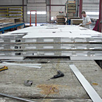 Aluminum Reinforced Vacuum-bonded Roof
