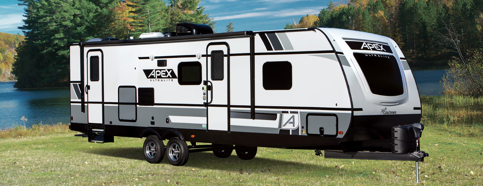 Travel Trailers Near Me >> Apex Ultra Lite Travel Trailers By Coachmen Rv