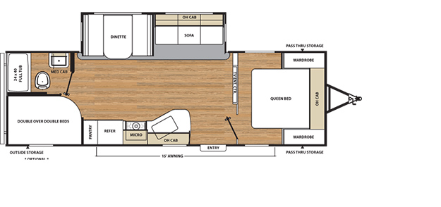2016 Coachmen Catalina Floorplans And Layouts Forest River