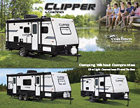 Clipper Travel Trailer Brochure