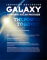 Galaxy Off-Grid Solar Package