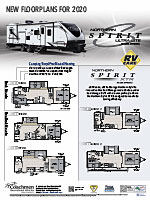 Northern Spirit New Floorplans Poster (Canada)