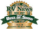RV News New Unit 2019 Best Of Show - Nova 20RB