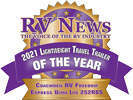 RV News 2021 Lightweight Travel Trailer of the Year - Freedom Express Ultra Lite 252RBS