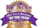 RV News 2021 Type C Motorhome of the Year - Prism Elite 24FS
